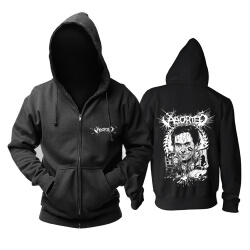 Awesome Belgium Aborted Grindcore Hoodie Metal Music Sweat Shirt