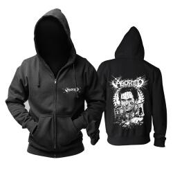 Awesome Belgium Aborted Grindcore Hoodie Metal Music Sweat Shirt