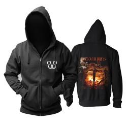 Awesome Bvb Hooded Sweatshirts Hard Rock Metal Rock Band Hoodie