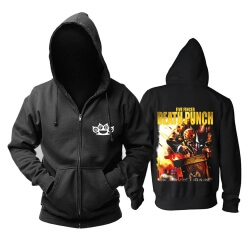 Awesome Five Finger Death Punch Hoodie California Hard Rock Music Sweatshirts