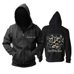 Awesome Meshuggah Hooded Sweatshirts Metal Rock Band Hoodie