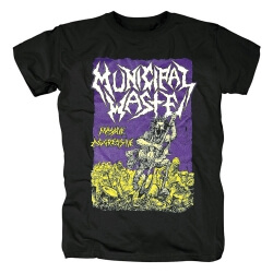 Awesome Municipal Waste T-Shirt Hard Rock Tshirts