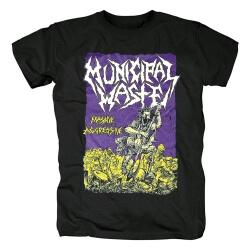 Awesome Municipal Waste T-Shirt Hard Rock Tshirts