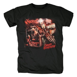 Belgium Metal Punk Rock Graphic Tees Quality Aborted Band T-Shirt