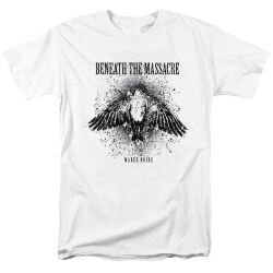 Beneath The Massacre Tee Shirts Black Metal Punk Band T-Shirt