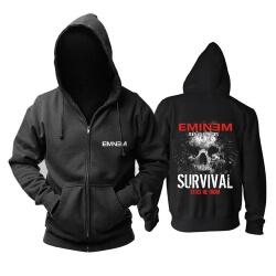 Best Eminem Survival Hooded Sweatshirts Hard Rock Music Hoodie
