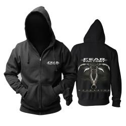 Best Fear Factory Hoodie Metal Rock Sweat Shirt
