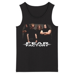 Best Fear Factory Tank Tops Metal Sleeveless Graphic Tees