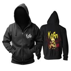 Best Korn Hooded Sweatshirts California Metal Punk Band Hoodie