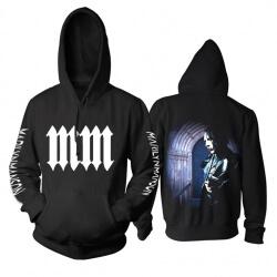 Best Marilyn Manson Hooded Sweatshirts Us Metal Music Hoodie