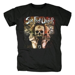 Best Six Feet Under Band Tees Metal Rock T-Shirt
