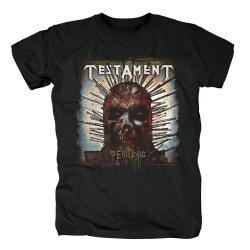Best Testament Demonic T-Shirt Metal Rock Tshirts