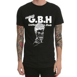 Black Gbh Heavy Metal Rock Band Tshirt