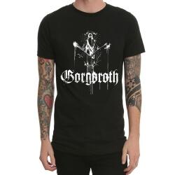 Black Gorgoroth Heavy Metal Rock Tshirt