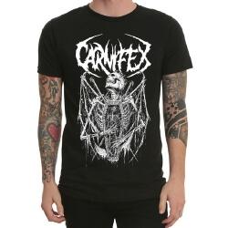 Black Heavy Metal Band Carnifex Tshirt