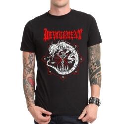 Black Heavy Metal Devourment Band Tshirt