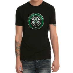 Black Heavy Metal Flogging Molly Rock Band Tshirt