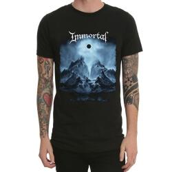 Black Heavy Metal Immortal Long Sleeve Tshirt
