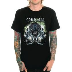 Black Heavy Metal Origin Band Rock T-Shirt