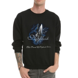 Black Metal Nightwish Crew Neck Hoodie