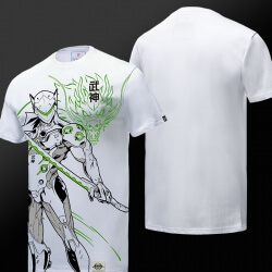 Blizzard Overwatch Genji Hero T-shirt for boy