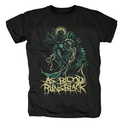 As Blood Runs Black T-Shirt Metal Rock Shirts