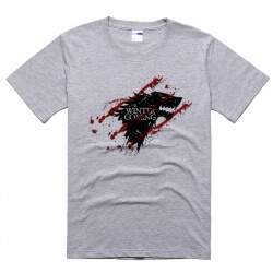 Blood Stark Wolf T-shirt Winter is Coming Tee