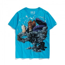 Blue Naruto T-shirt