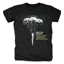 Brutal Truth Band T-Shirt Metal Tshirts