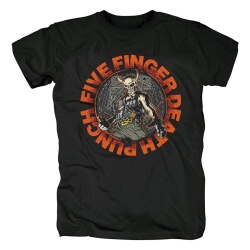 California Hard Rock Band Tees Five Finger Death Punch T-Shirt