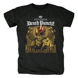 California Hard Rock Graphic Tees Five Finger Death Punch Band T-Shirt