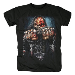 California Metal Rock Graphic Tees Quality Five Finger Death Punch Band T-Shirt
