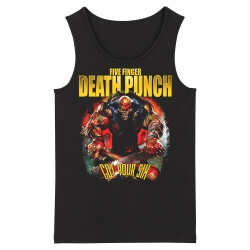 California Metal Sleeveless Tees Unique Five Finger Death Punch Tank Tops
