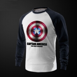 Captain America Full Sleeve T Shirt Online