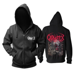 Carnifex Die Without Hope Hoodie Metal Music Sweatshirts