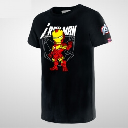 Cartoon Iron Man T-shirt for boy
