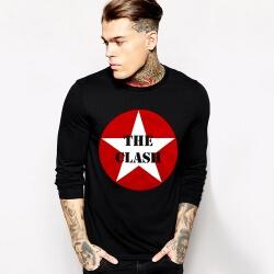 The Clash Long Sleeve Tee Shirt Rock Music Team Tee