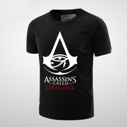 cool Assassin's Creed Syndicate Black Tshirt