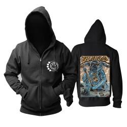 Cool Blink 182 Hooded Sweatshirts Punk Band Hoodie
