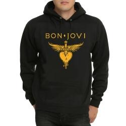 Cool Bon Jovi Black Pullover Hoodie