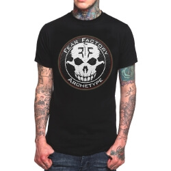 Cool Fear Factory Band Rock T-Shirt