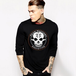 Cool Fear Factory Rock T-Shirt Long Sleeve