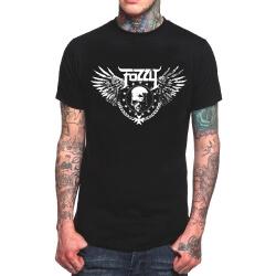 Cool Fozzy Rock Band Tshirt Black Heavy Metal T