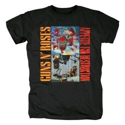 Cool Guns N'Roses Alternatives For Destruction Tees Rock T-Shirt