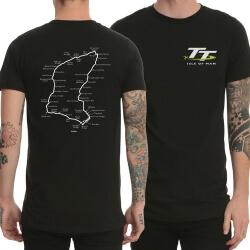Cool Isle of Man TT Logo Tee Shirt