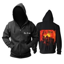 Cool Italy Ex Deo Hoodie Hard Rock Metal Punk Rock Band Sweat Shirt