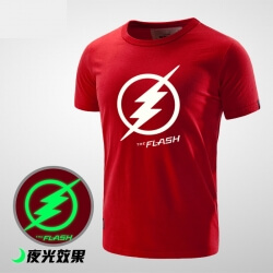 Cool Luminous Flash Logo T Shirt