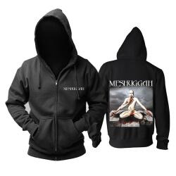 Cool Meshuggah Hooded Sweatshirts Metal Rock Hoodie