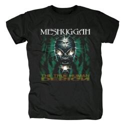Cool Meshuggah T-Shirt Metal Rock Tshirts