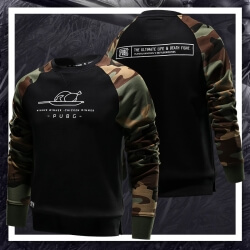 Cool Pubg Winner Chicken Dinner Sweatshirt Battleground Game Couple Hoodie